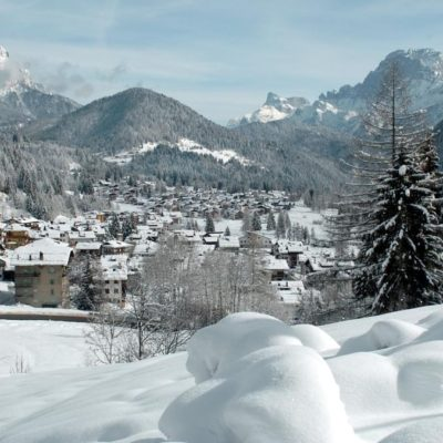 Veduta Paese Falcade Inverno C Stefano Zardini